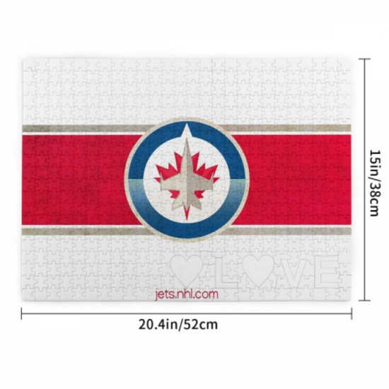 Puzzle Game - NHL Winnipeg Jets Picture puzzle #164857 for Adults Teens Kids