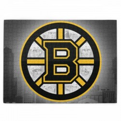 1 Pack of 520 Piece NHL Boston Bruins Picture puzzle #171061, for Adults, Families