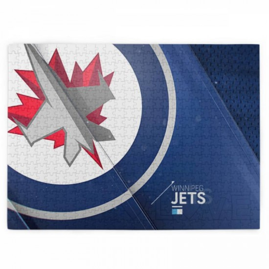 1 Pack of 520 Piece Winnipeg Jets Picture puzzle #164874, for Adults, Families